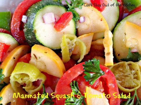 Marinated Squash and Tomato Salad - IMG_5585
