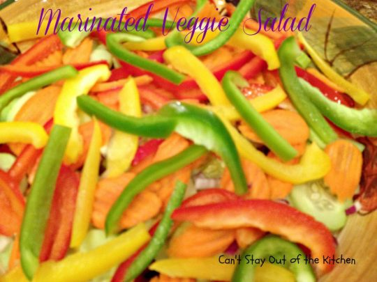 Marinated Veggie Salad - IMG_0407