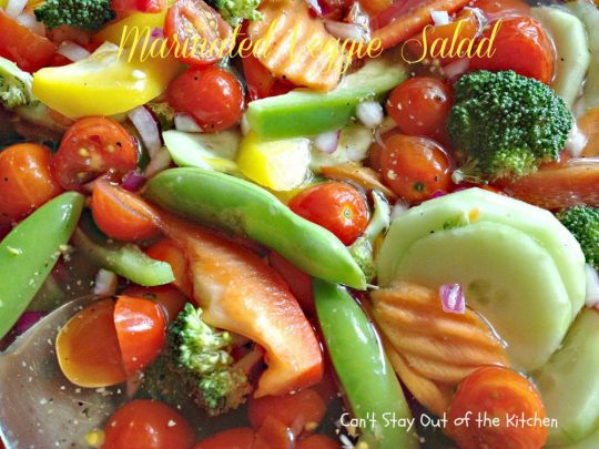 Marinated Veggie Salad - IMG_0456