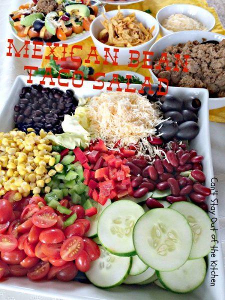 Mexican Bean Taco Salad - IMG_5501.jpg