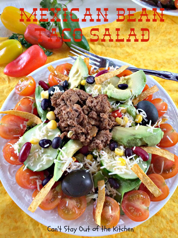 texas kidney beans salad
