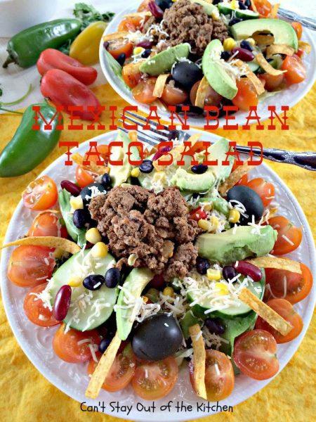 Mexican Bean Taco Salad - IMG_5577.jpg