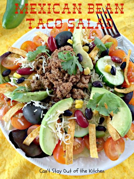 Mexican Bean Taco Salad - IMG_5583.jpg