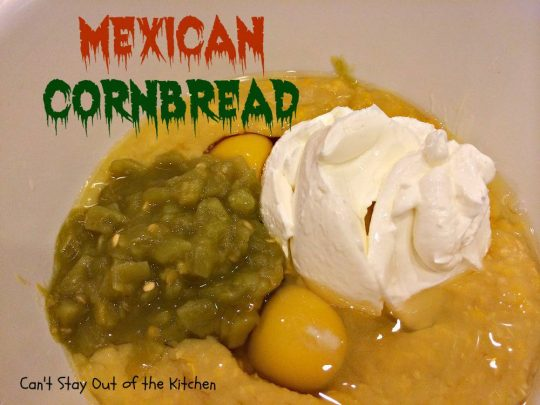Mexican Cornbread - IMG_1075