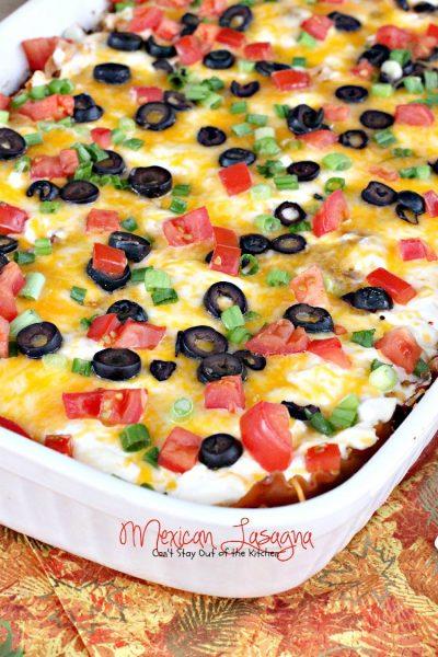 Mexican Lasagna - IMG_5639