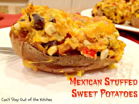 Mexican Stuffed Sweet Potatoes - Recipe Pix 27 904