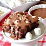Mississippi Mud Brownies   Can't Stay Out of the Kitchen   these #brownies are divine! #chocolate #almonds & #marshmallows make this #dessert absolutely marvelous.