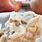 Mom's Apple Pie | Can't Stay Out of the Kitchen | Love this fabulous #applepie recipe with a homemade #piecrust. #apples #pie #dessert