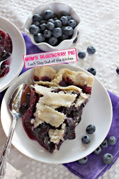 Mom's Blueberry Pie - IMG_2951