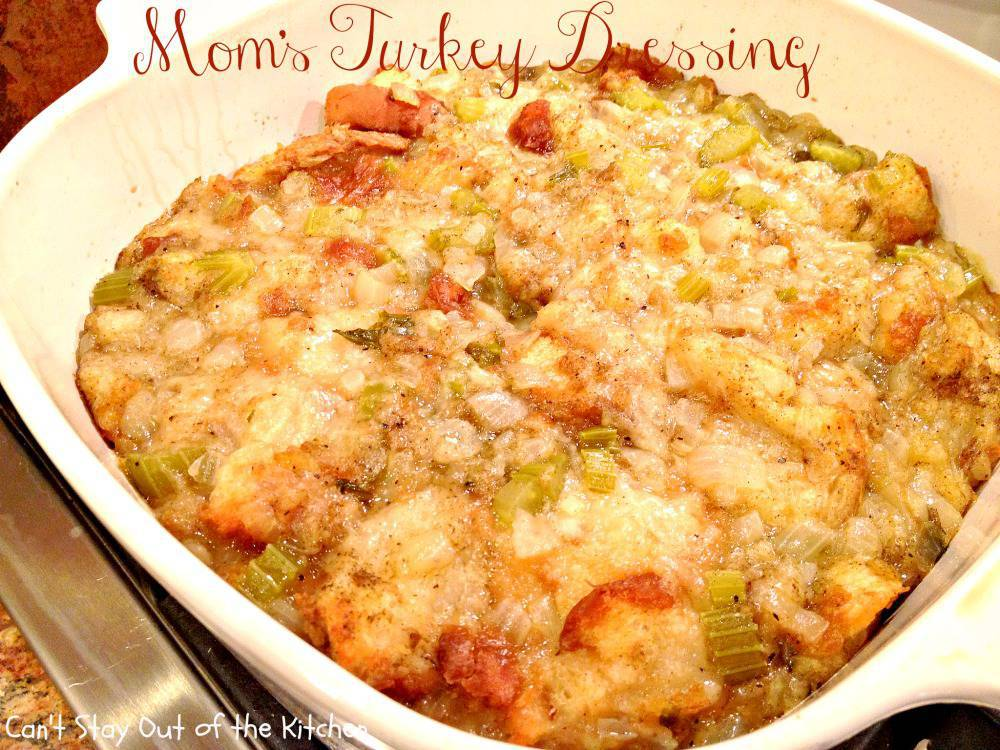 Turkey Dressing Mom's turkey dressing