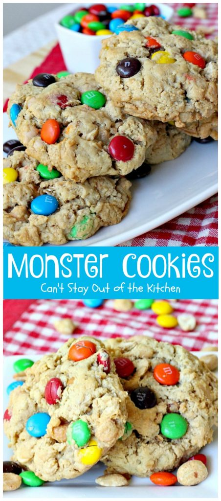 Monster Cookies | Can't Stay Out of the Kitchen