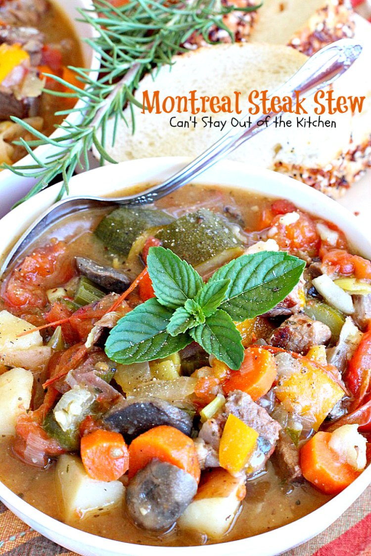 Montreal Steak Stew