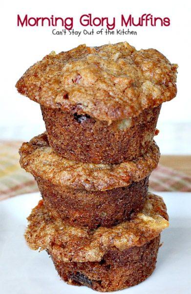 Morning Glory Muffin Bread Recipe — Dishmaps