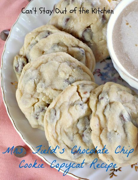 Mrs. Field's Chocolate Chip Cookie Copycat Recipe - IMG_1747