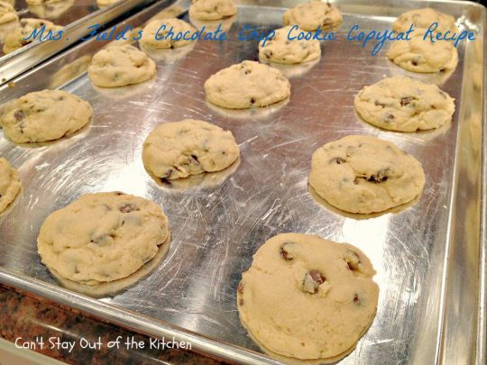 Mrs. Field's Chocolate Chip Cookie Copycat Recipe - IMG_6915