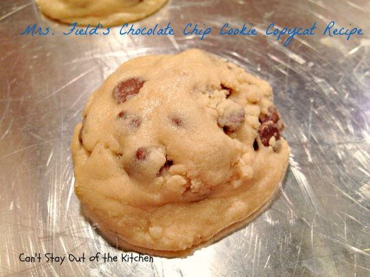 Mrs. Field's Chocolate Chip Cookie Copycat Recipe - IMG_6916