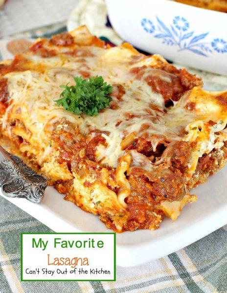 My Favorite Lasagna - IMG_3713