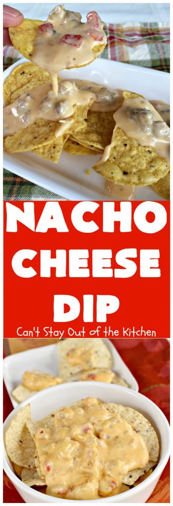 Nacho Cheese Dip | Can't Stay Out of the Kitchen
