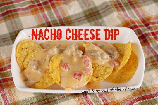 Nacho Cheese Dip - IMG_1094