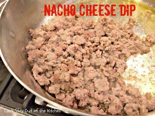 Nacho Cheese Dip - IMG_5415
