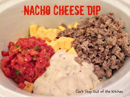 Nacho Cheese Dip - IMG_5416