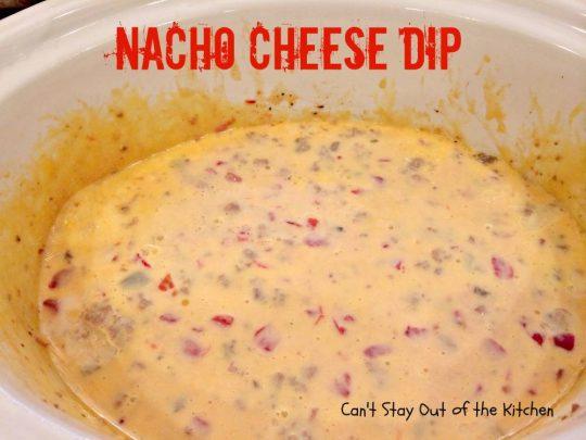 Nacho Cheese Dip - IMG_5477