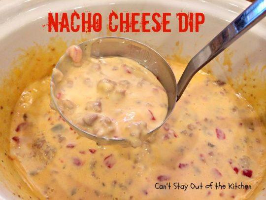 Nacho Cheese Dip - IMG_5478