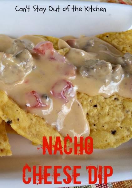 Nacho Cheese Dip - IMG_5479
