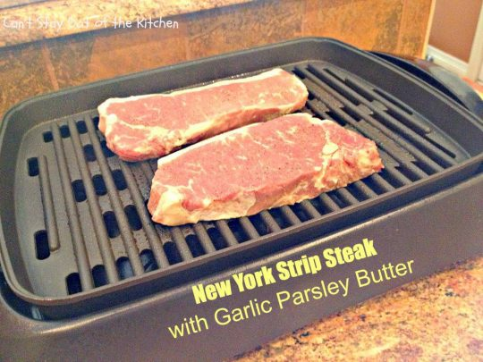 New York Strip Steak with Garlic Parsley Butter - IMG_3980