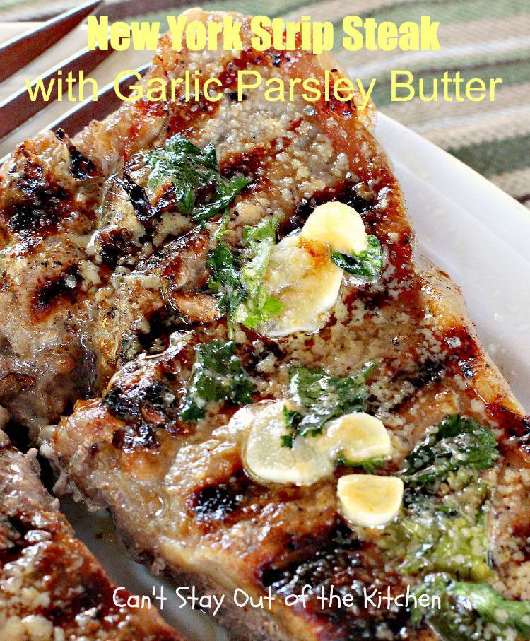 how to make parsley butter steak