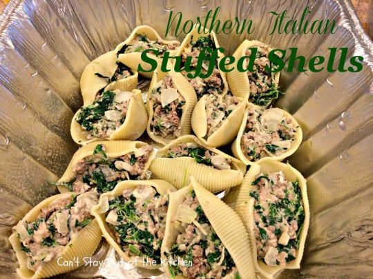 Northern Italian Stuffed Shells - IMG_1163