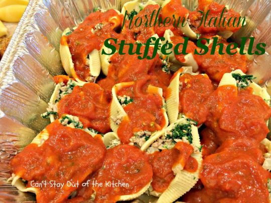 Northern Italian Stuffed Shells - IMG_1166