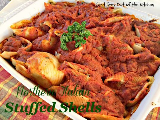 Northern Italian Stuffed Shells - IMG_1289