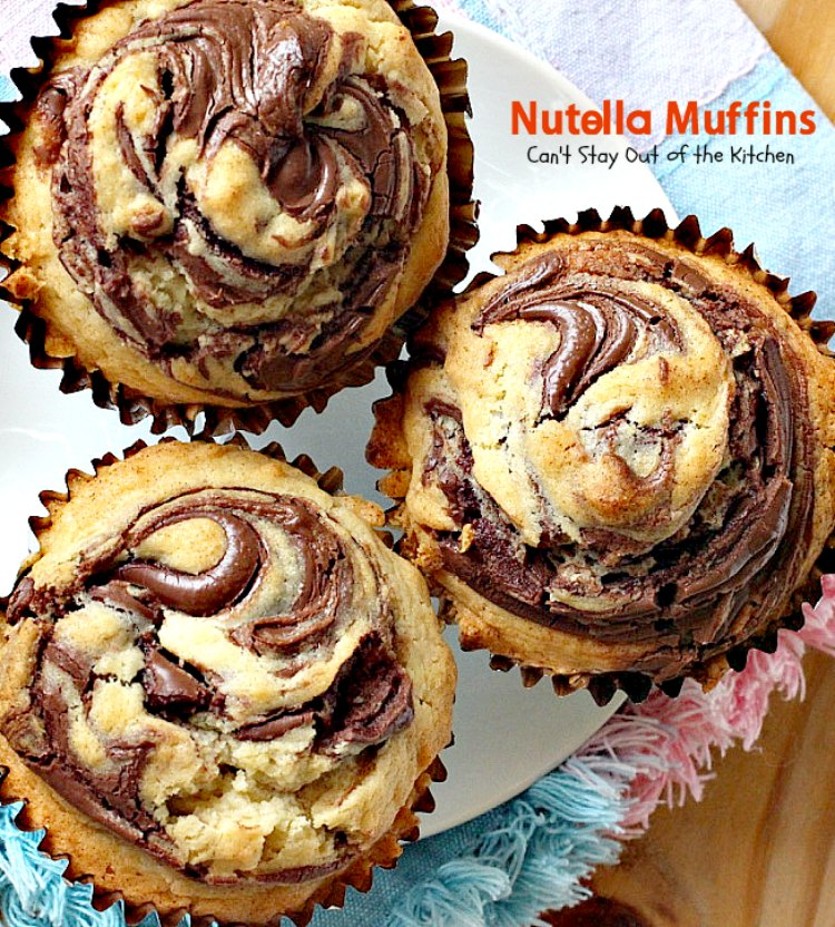 Nutella Muffins Can T Stay Out Of The Kitchen