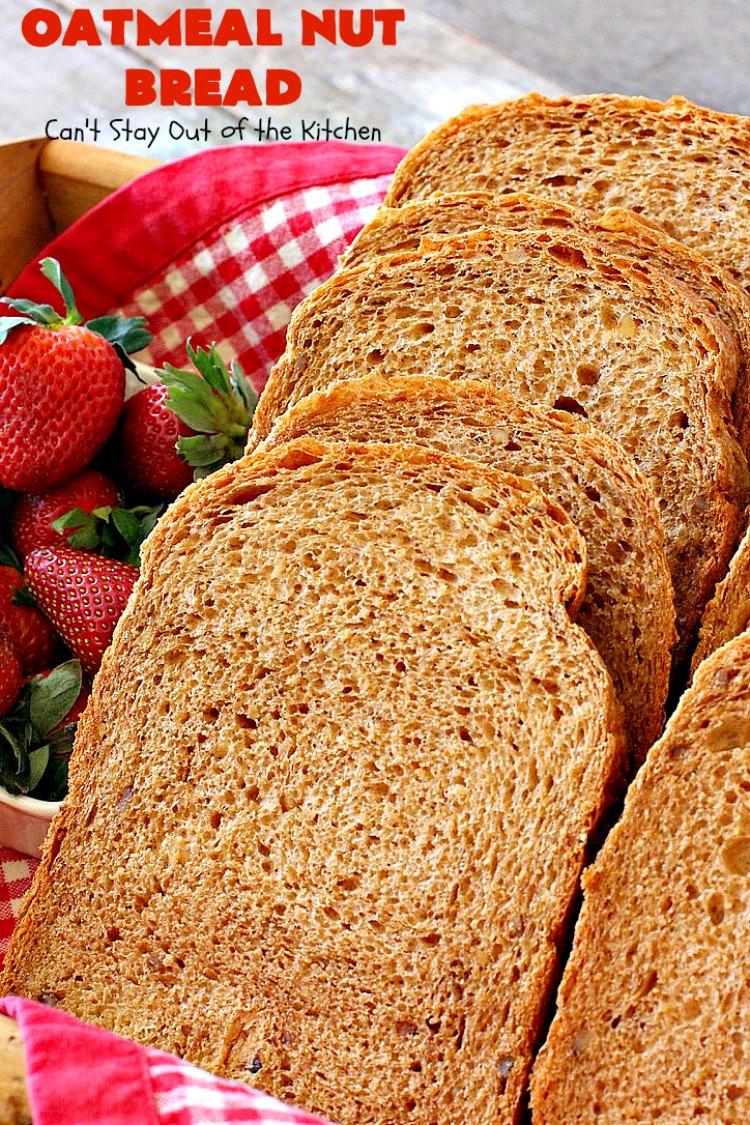 Oatmeal Nut Bread
