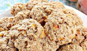 Oatmeal Peach Cookies