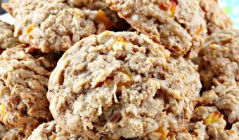 Oatmeal Peach Cookies