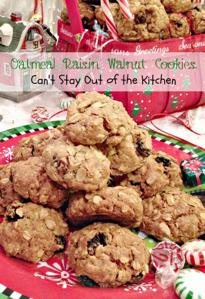 Oatmeal Raisin Walnut Cookies - Recipe Pix 18 144