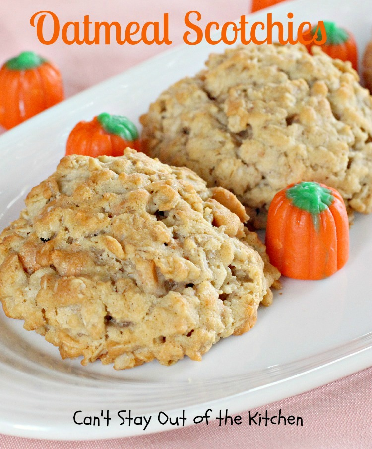 Coconut Oatmeal Cookies - Can't Stay Out of the Kitchen