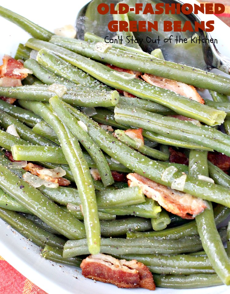 Old Fashioned Pickled Green Beans