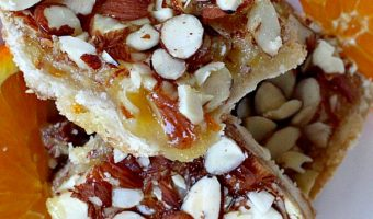 Orange Marmalade Almond Bars