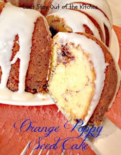 Orange Poppy Seed Cake - IMG_1324