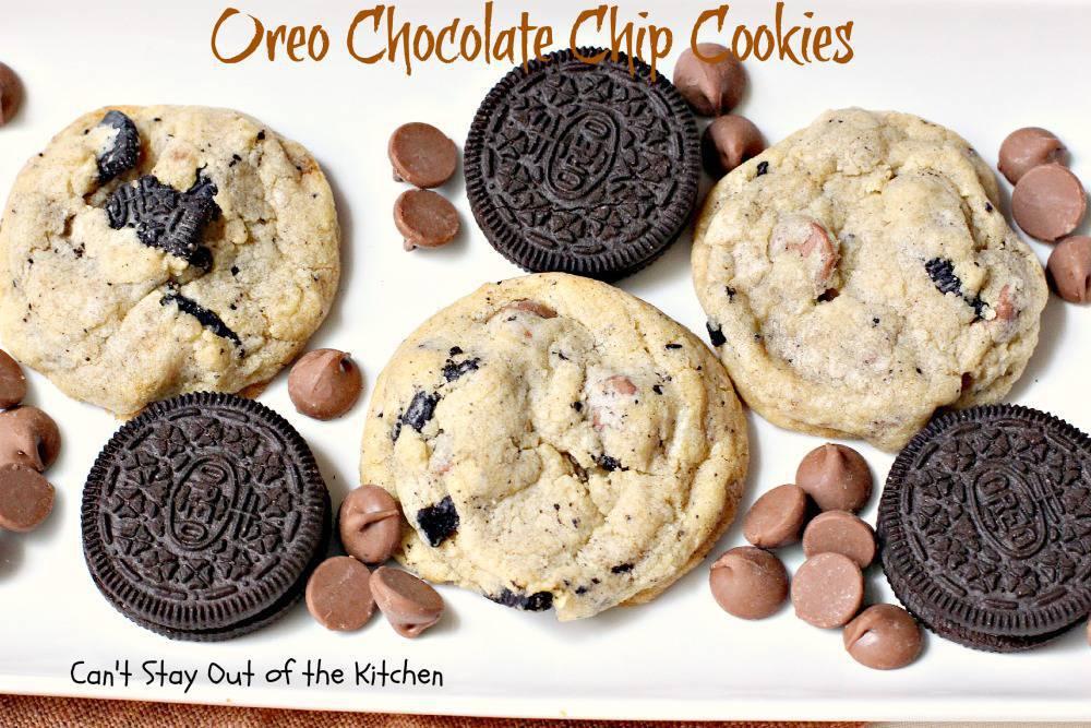 21 Oreo Chocolate Chip Cookies