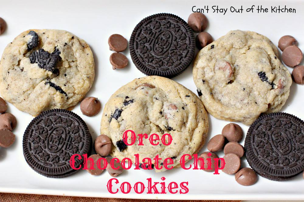 If you take a tray of Oreo Chocolate Chip Cookies out to your office ...