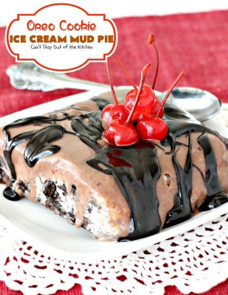 Oreo Cookie Ice Cream Mud Pie - IMG_3811