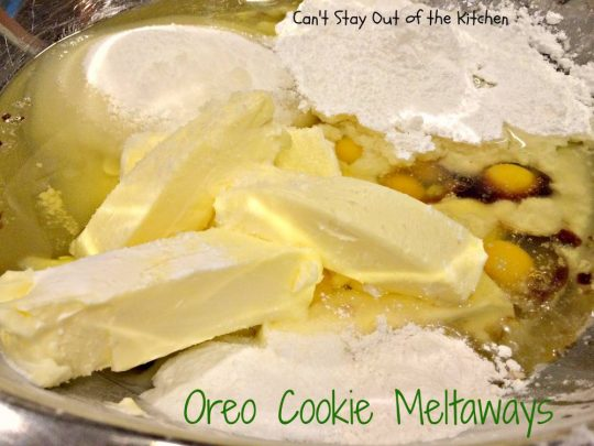 Oreo Cookie Meltaways - IMG_1466