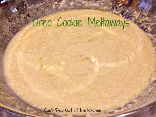 Oreo Cookie Meltaways - IMG_1467