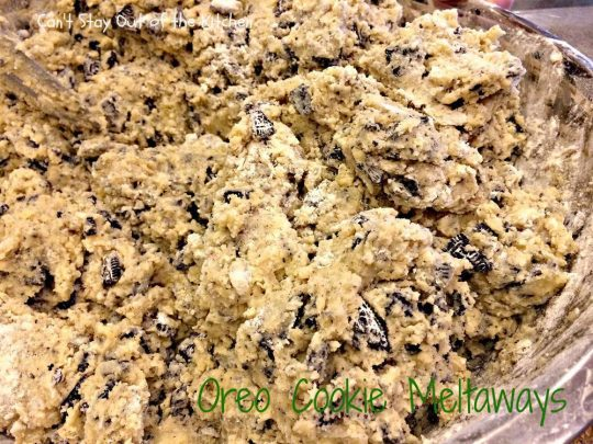 Oreo Cookie Meltaways - IMG_1469