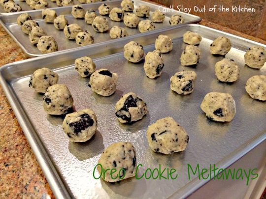 Oreo Cookie Meltaways - IMG_1470