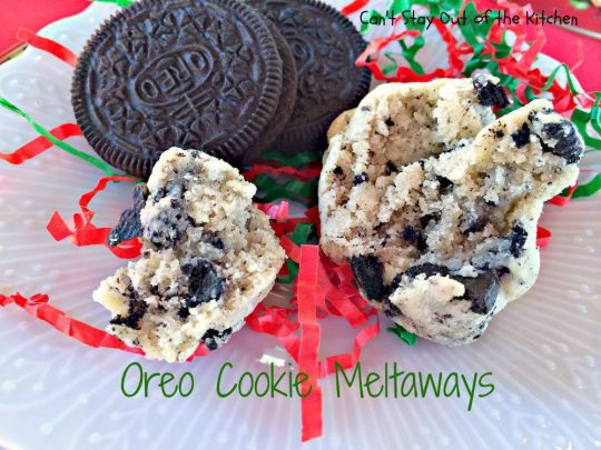 Oreo Cookie Meltaways - IMG_1478